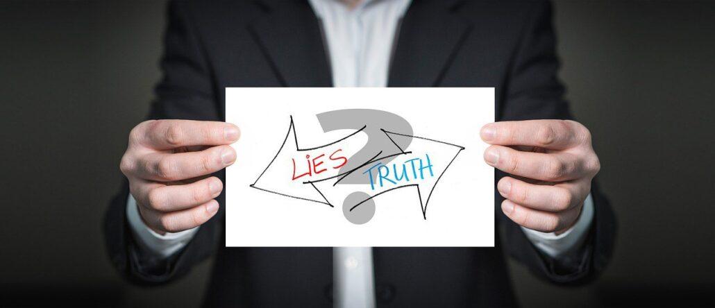 برخورد با آدم دروغگو