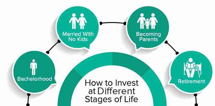 مراحل مختلف زندگی زناشویی