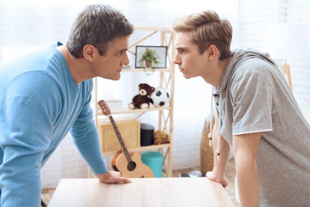 رفتار با نوجوان پرخاشگر