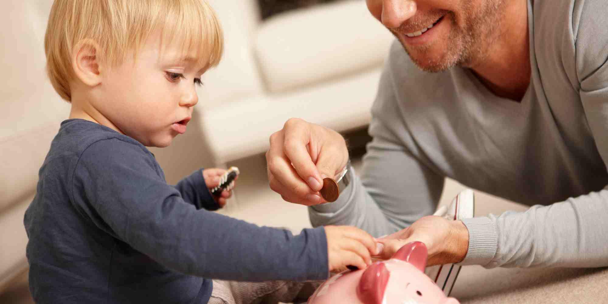 آموزش پس انداز کردن به کودکان